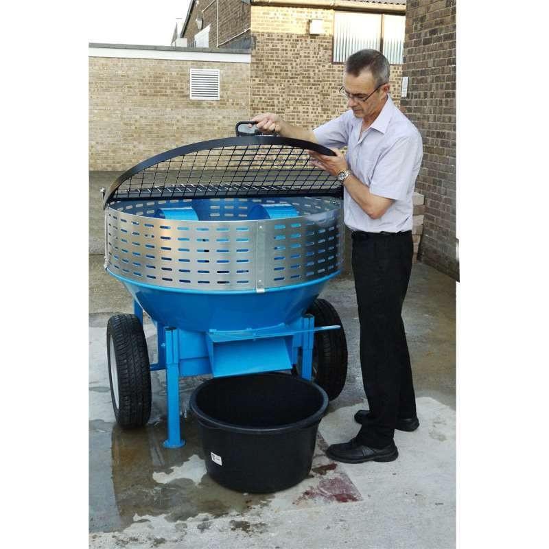Refina RMR230 Lime Mortar Roller Pan Mixer