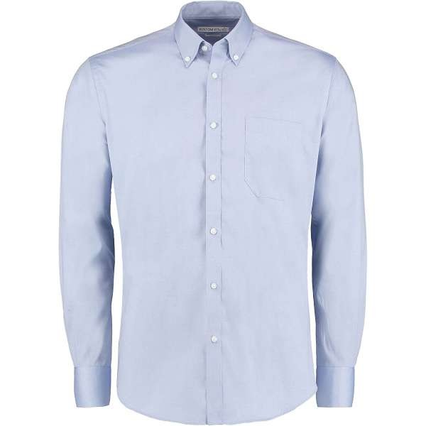 Kustom Kit Slim Fit Premium Oxford Shirt Long Sleeve (KK113)