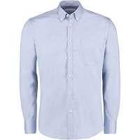 Kustom Kit Slim Fit Premium Oxford Shirt Long Sleeve (KK113)