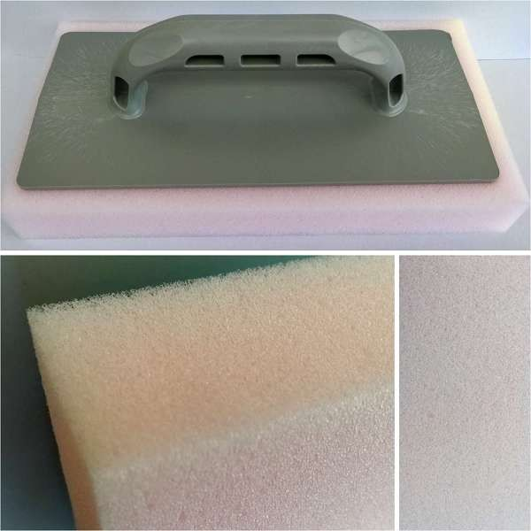 Magic Plastering Polishing Thick Fine Foam Sponge Float 280mm X 150mm