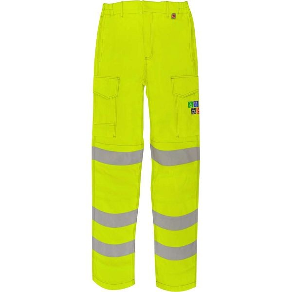 Morse FR ARC Hi Vis Yellow Combat Trousers