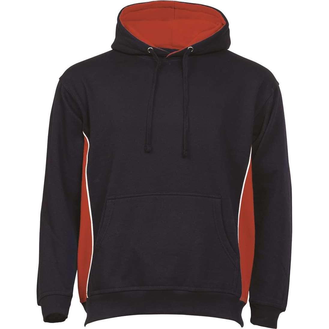 Sportstone Two Colour Hooded Sweatshirt
