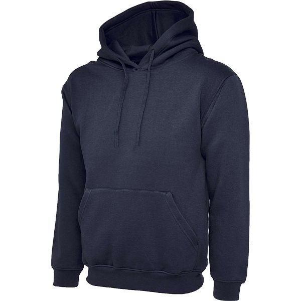 Uneek Navy Olympic Hooded Sweatshirt UC508