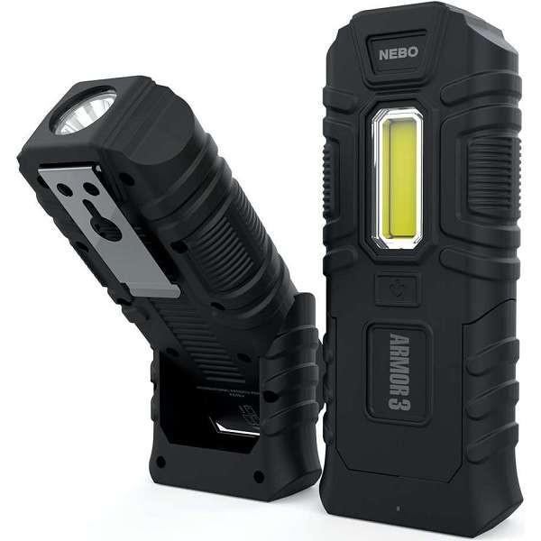 NEBO ARMOR 3 TOUGH IMPACT COB LED 360 Lumens