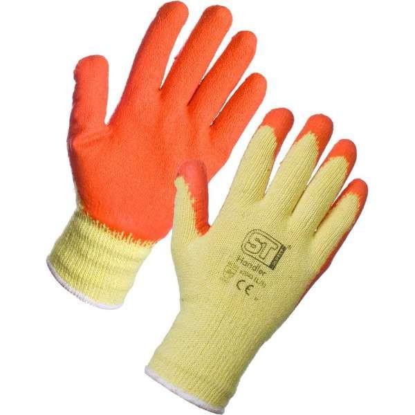 Orange Latex Handler Glove