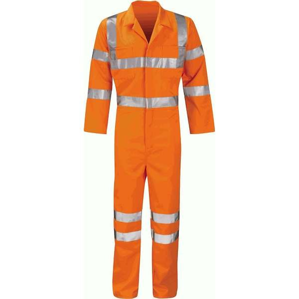 Hi Vis Apollo Rail Spec Coverall (Pro Rail Hercules)