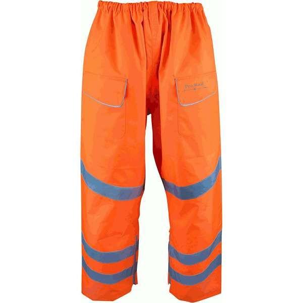 Hi Vis Bolster Waterproof Combat Style Over Trouser