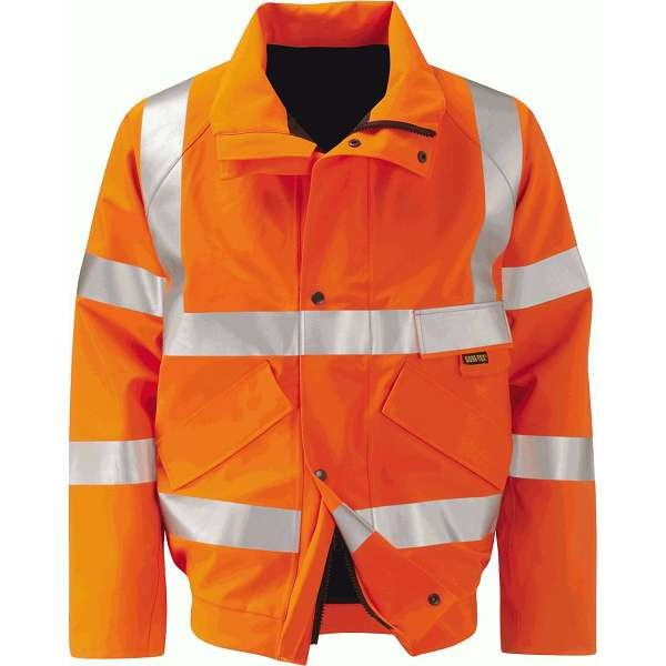Hi Vis Colorado Gore-Tex Rail Spec Bomber Jacket