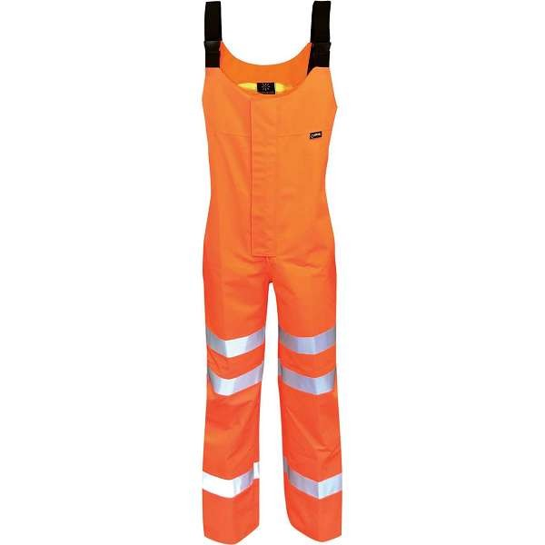 Hi Vis Danube Gore-Tex 3 Layer EN471 Rail Spec Salopette