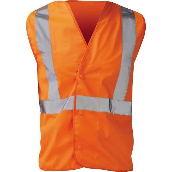 Hi Vis Euston Rail Spec Pull Apart Waistcoat
