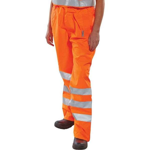 Hi Vis Rail Spec Birkdale Overtrousers