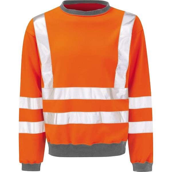 Hi Vis Sentinel Rail Spec Sweatshirt