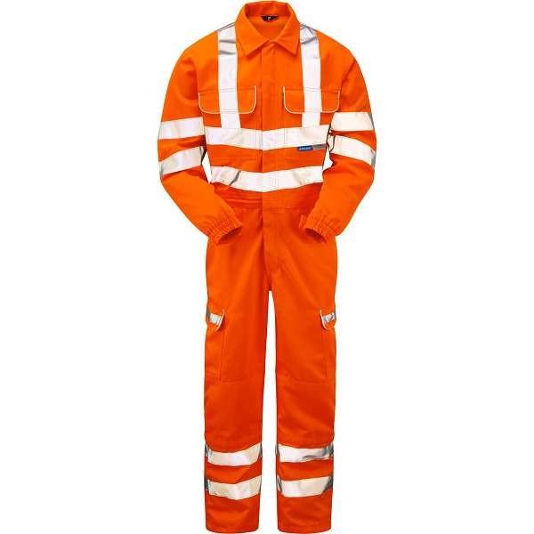 Rail Hi Vis Coveralls | Work & Wear Direct