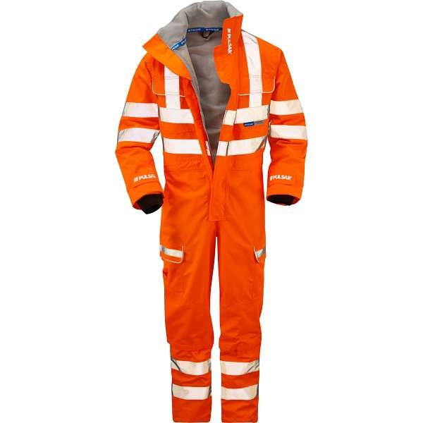 Pulsar PR505 Rail Specification Foul Weather Coverall Large