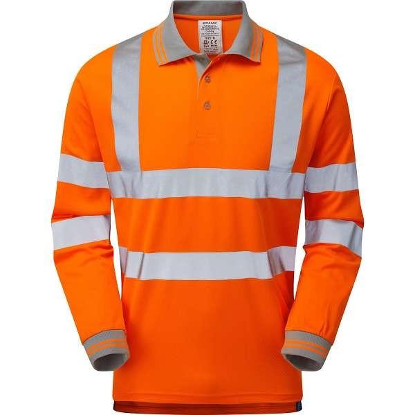 Pulsar Rail Spec Long Sleeve Polo Shirt (PR470)