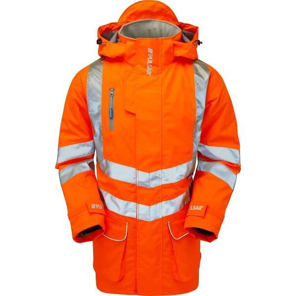 Pulsar Rail Spec Padded Storm Coat (PR502)