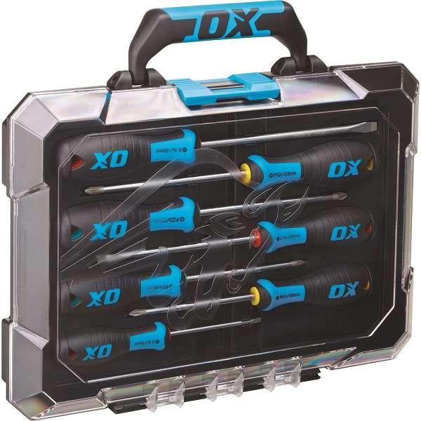 Ox Pro 7 Piece Screwdriver Set