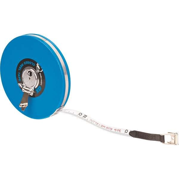 Ox Trade 30M Closed Reel Tape Measure