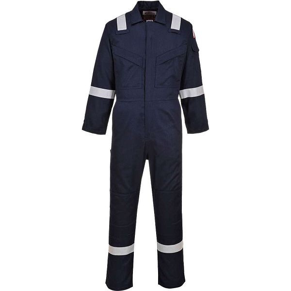 Portwest Lightweight Navy Coverall - FR28