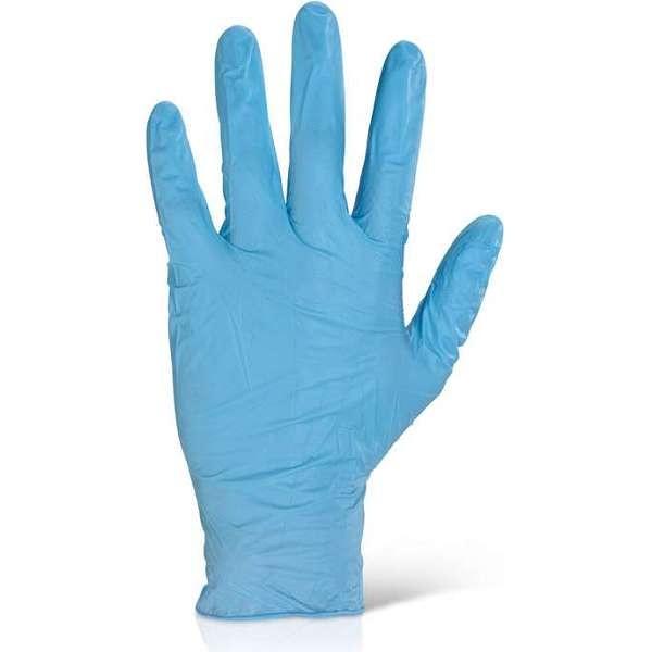 Powder Free Disposable Nitrile Gloves (Blue)