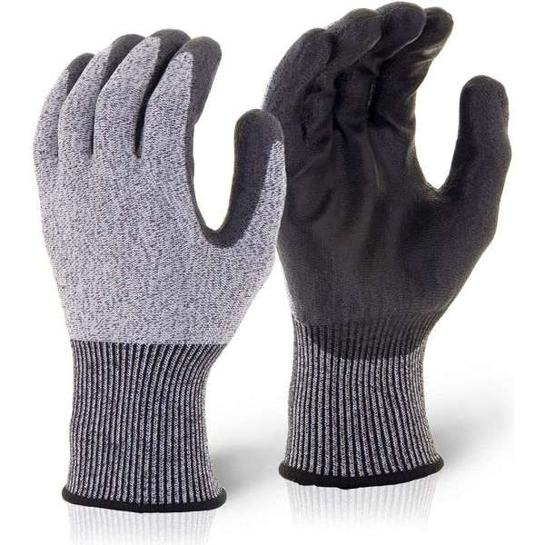 Pu Coated Cut Resistant 5 Glove