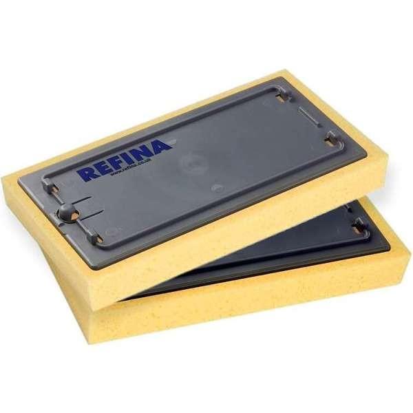 """Refina 11"""" Click Clack Replacement Sponge [Open - Yellow]"""