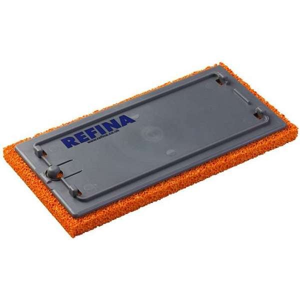 "Refina 11"" Clikclak Replacement Sponge [Coarse  - Orange]"