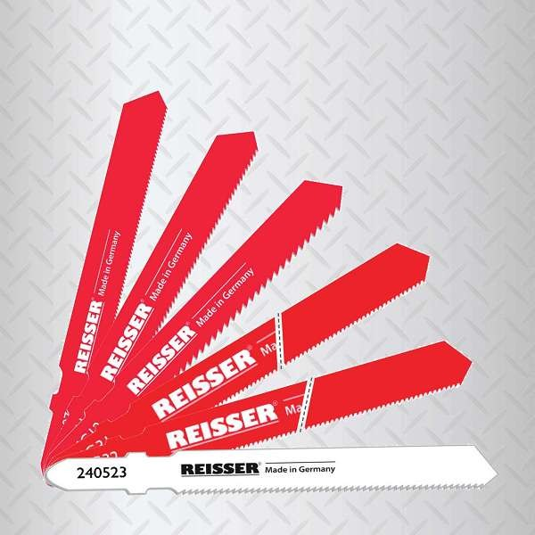 Reisser Jigsaw Blades For Metal  (Pack 5pcs) T118A Blade