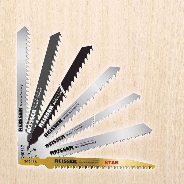 Reisser Jigsaw Blades For Wood (Pack 5pcs) T144D Blade