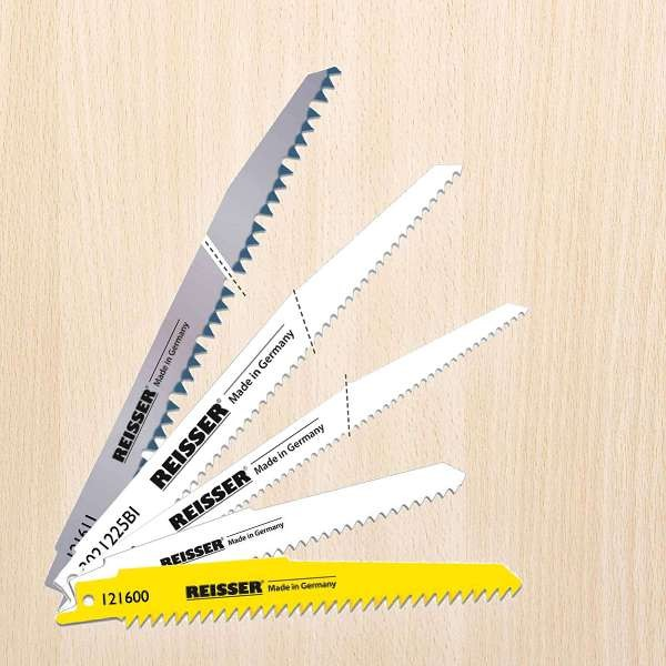 Reisser Sabre Blades For Wood (Pack 5Pcs) S1531L Blade
