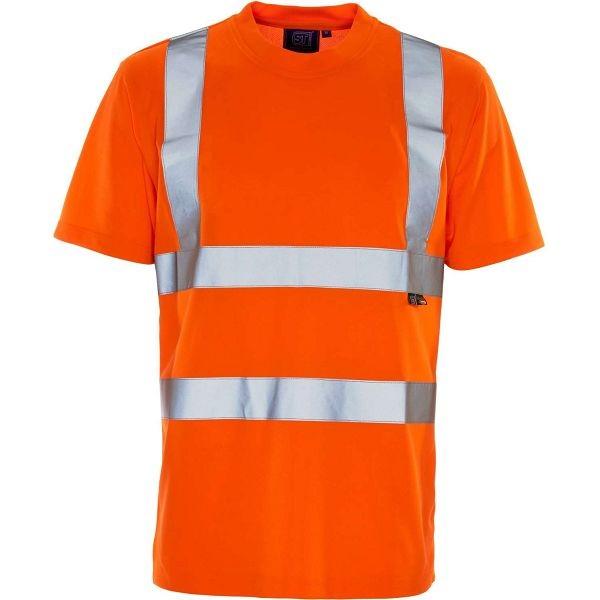 Supertouch Hi Vis Bird Eye Rail Spec T-Shirt