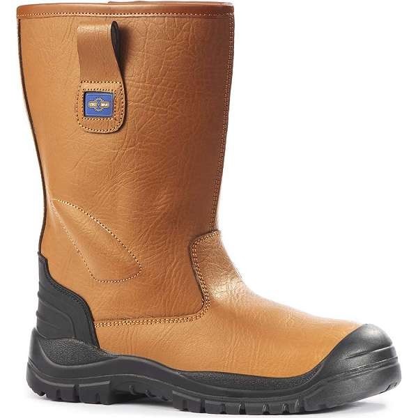 Pro Man Chicago Fur Lined Tan S1P Safety Riggers