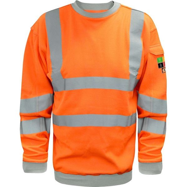 Theorem FR ARC Hi Vis Orange Sweatshirt