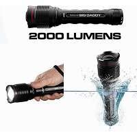 NEBO BIG DADDY 2000 Lumens HD Waterproof Zoom Flash Light