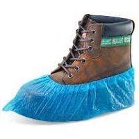 "Overshoes 16"" Blue Polythene (100 per pack)"