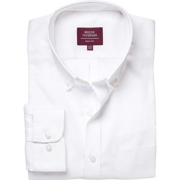 Brook Taverner Whistler Classic Long Sleeve Oxford Shirt