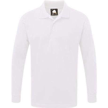 Orn Weaver Premium Long Sleeve Polo Shirt