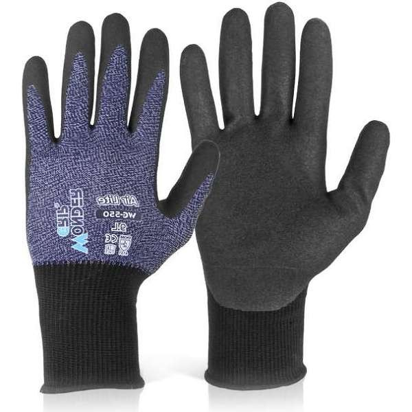 Wonder Grip WG-550 Air Lite Nitrile Gloves