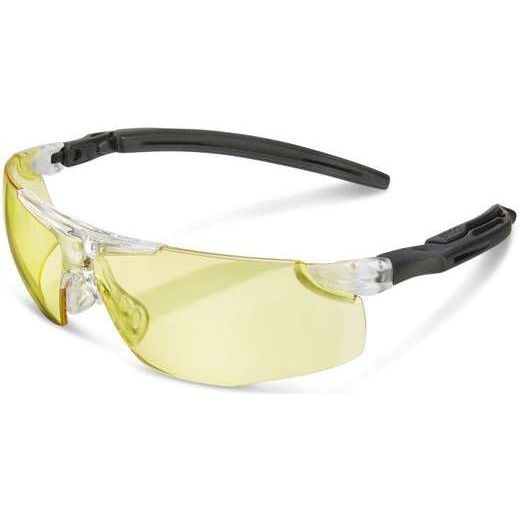 Anti-Fog Temple Spectacles (Ergo) Yellow