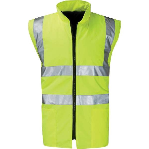 Hi Vis Corinthian Reversible Body Warmer