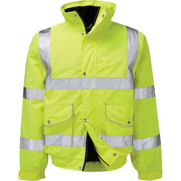 Hi Vis Gawain Executive Bomber Jacket
