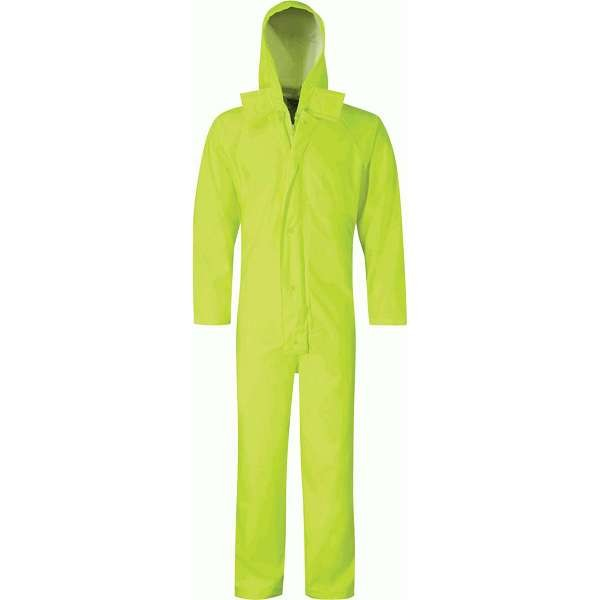 Hi Vis Hydra-Flex Yellow Waterproof Breathable Coverall