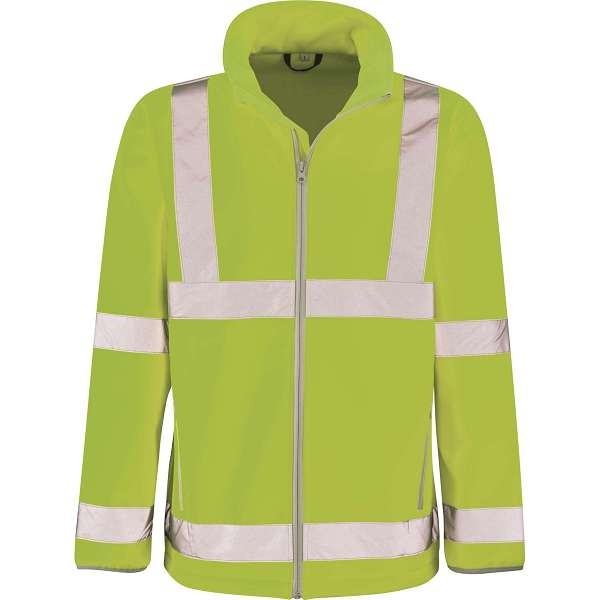 Hi Vis Marauder Yellow Softshell Jacket