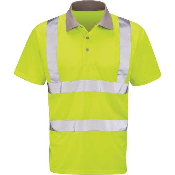 Hi Vis Mercury Yellow Polo Shirt