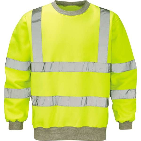Hi Vis Sentinel Yellow Sweatshirt