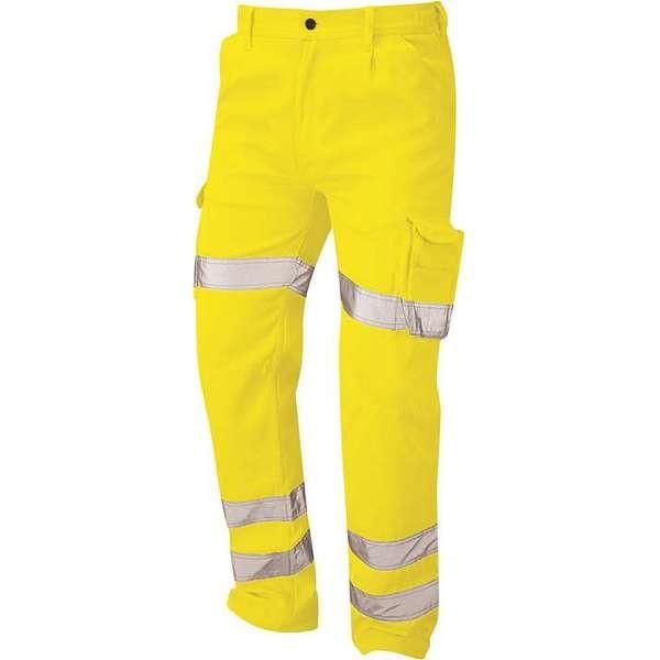 Hi Vis Yellow Condor Deluxe Cargo Trousers