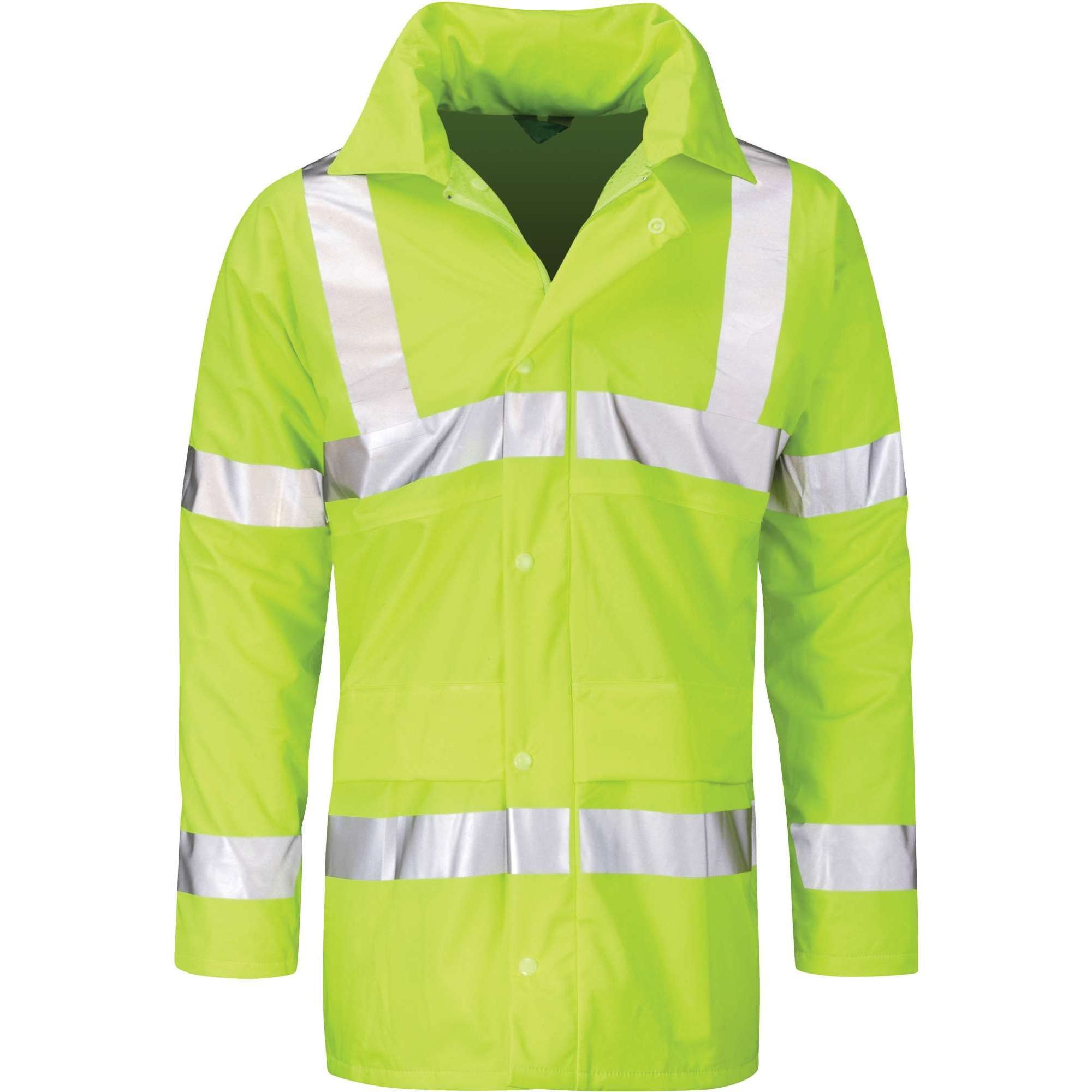 Hi Vis Hydra-Flex Vanadium Unpadded Yellow Jacket