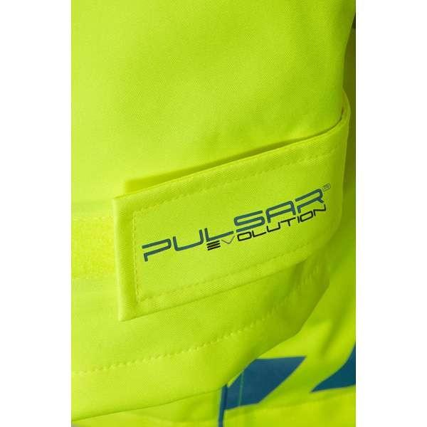 Pulsar Evolution Hi Vis 3 Layer Storm Coat (EVO100)