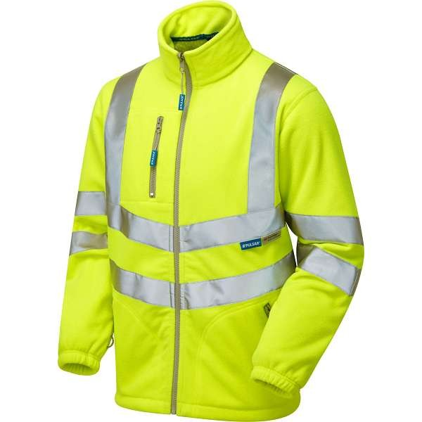 Pulsar Hi Vis Interactive Lined Fleece Jacket (P507)