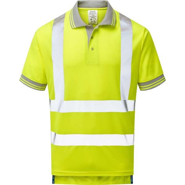Pulsar Hi Vis Short Sleeved Polo Shirt (P175)